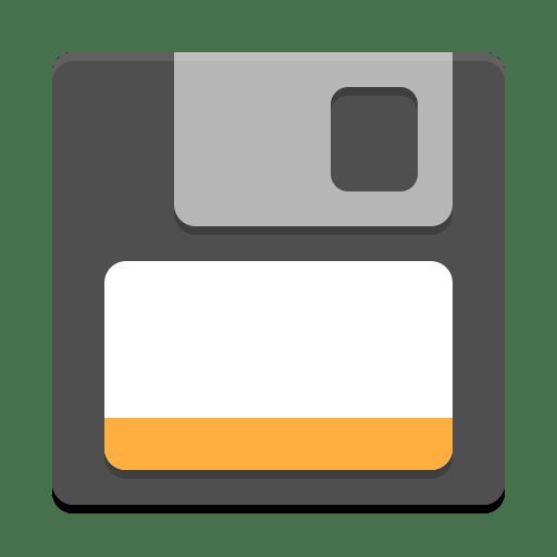 Media floppy icon