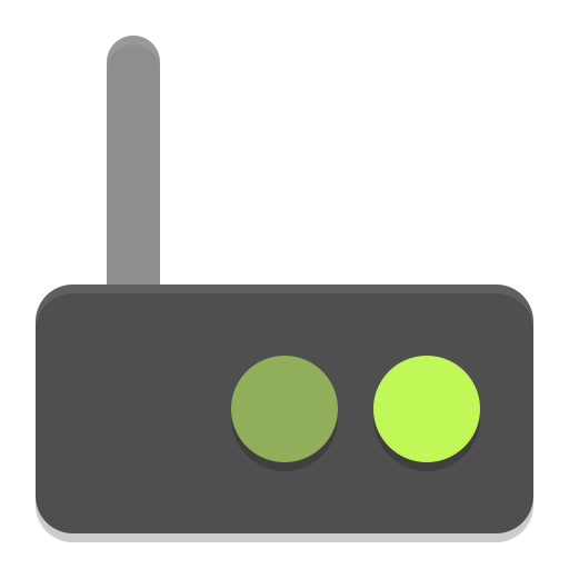 Network modem icon
