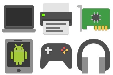 Papirus Devices Icons