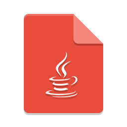 Text x java icon