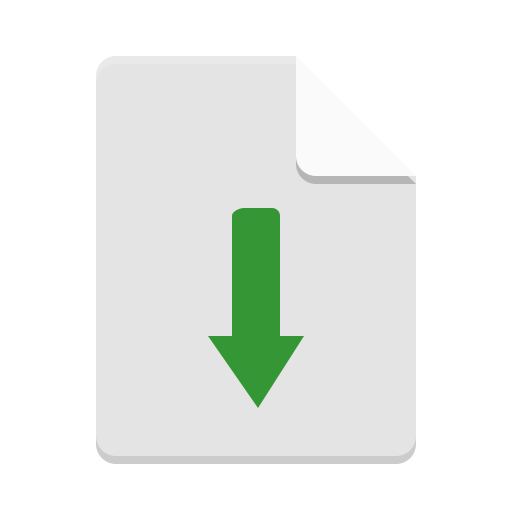 Text-x-install icon