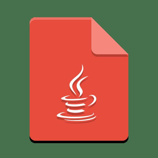 Text-x-java icon