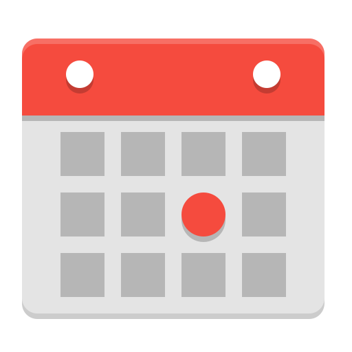 X-office-calendar icon