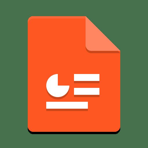 X office presentation icon