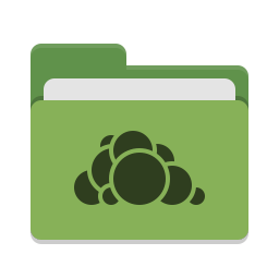 Folder green owncloud icon