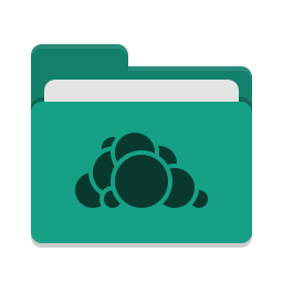 Folder teal owncloud icon