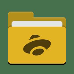 Folder yellow yandex disk Icon | Papirus Places Iconset | Papirus