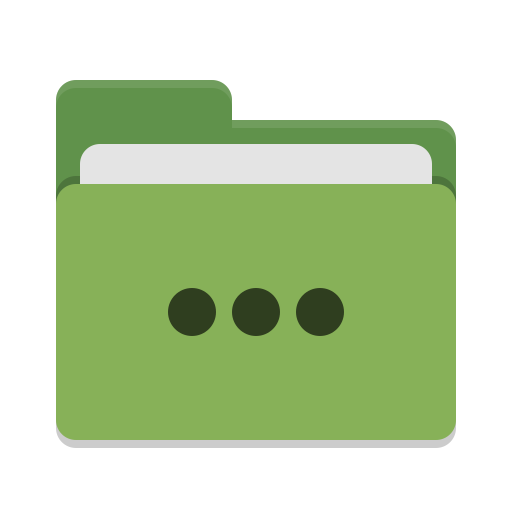 Folder-green-activities icon