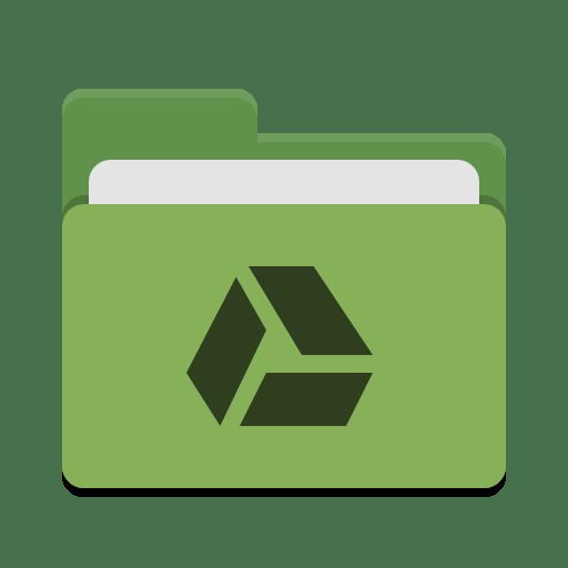 Folder-green-google-drive icon