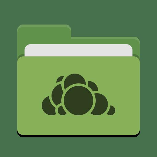 Folder green owncloud icon