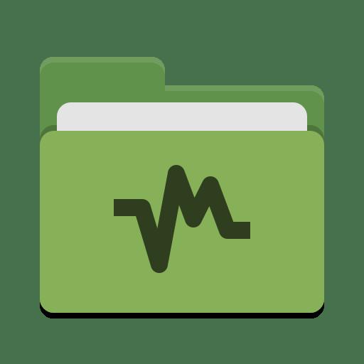 Folder-green-vbox icon