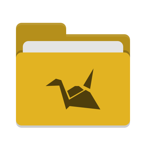 Folder-yellow-copy-cloud icon