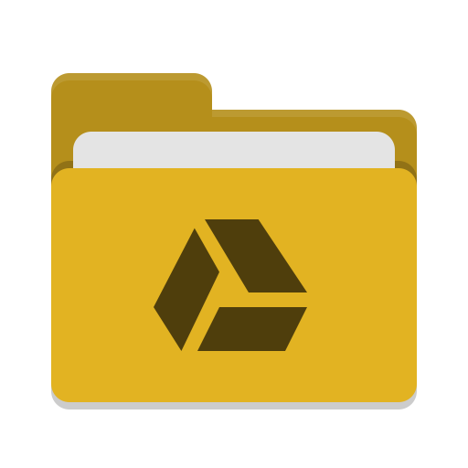 Folder-yellow-google-drive icon