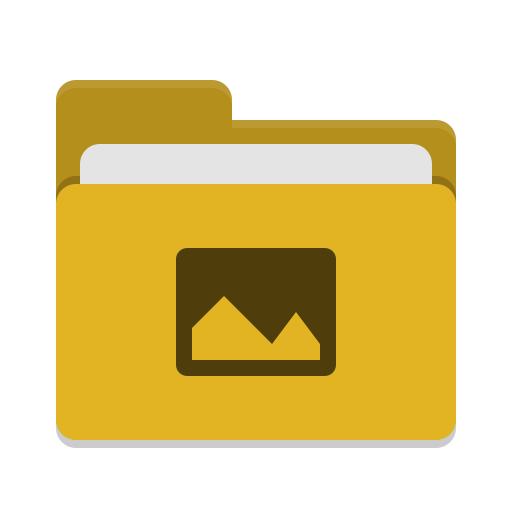 Folder-yellow-pictures icon