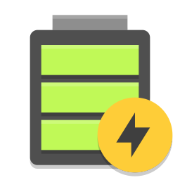 Battery full charging icon
