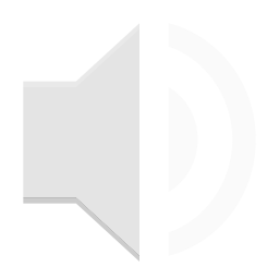 Notification audio volume low icon