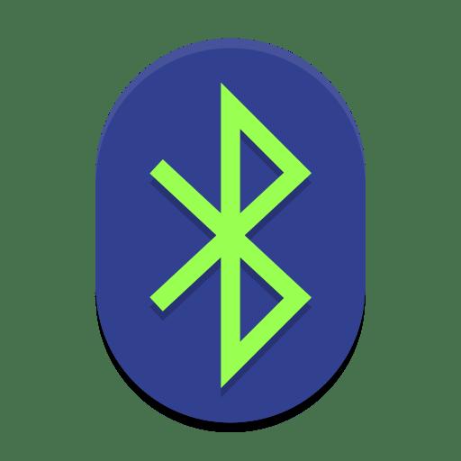 Bluetooth active icon