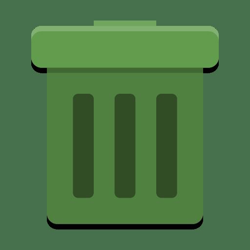 User-trash icon