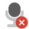 Notification-microphone-sensitivity-muted icon