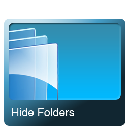 hide folders icon