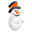 Christmas Snowman icon