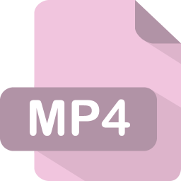 Mp4 Icon | Flat File Type Iconset | PelFusion