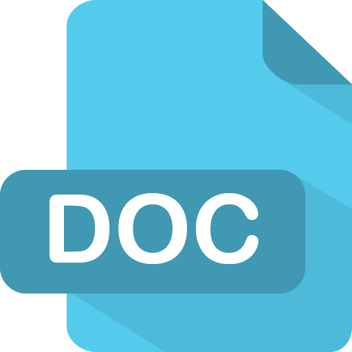 doc icon flat file type iconset pelfusion
