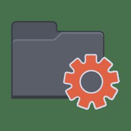Setting Folder icon