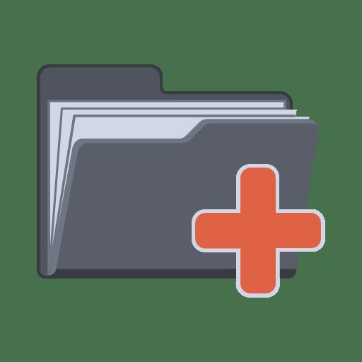 Plus-Folder icon