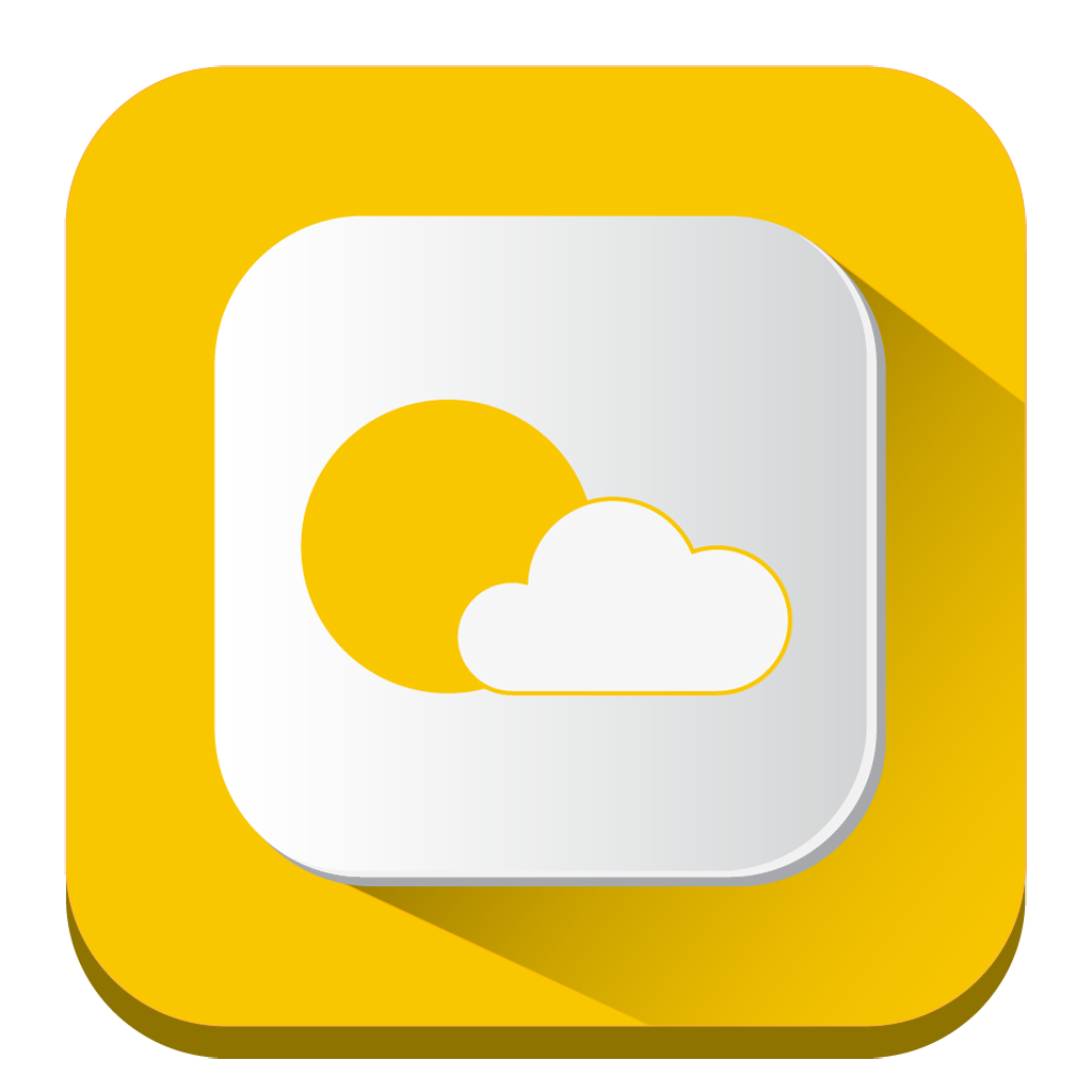 Weather Icon   Long Shadow iOS7 Iconset   PelFusion