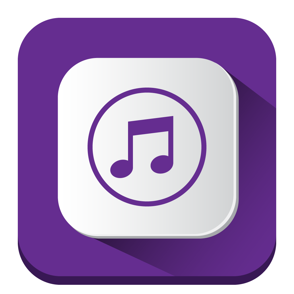 iTunes Store Icon | Long Shadow iOS7 Iconset | PelFusion