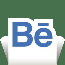 Behance Transparent icon