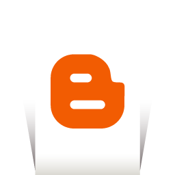Blogger Transparent icon