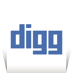 Digg Transparent icon