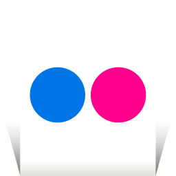 Flickr Transparent icon