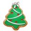 Christmas-cookie-tree icon