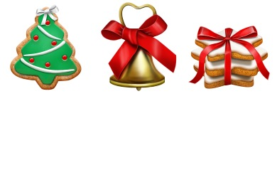 Christmas Cookie Icons