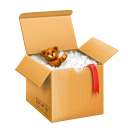 shipping box icon