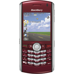 BlackBerry Pearl red icon