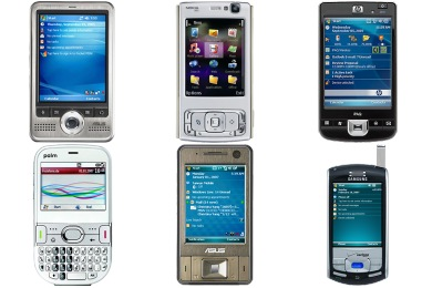 Mobile Device Icons