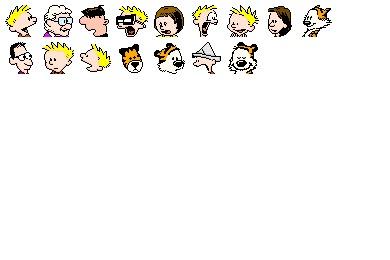 Calvin Icons