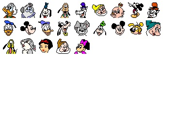 Disney Icons
