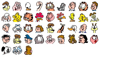 Garfield Icons