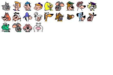 Hanna Barbera Icons