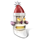 Robot Santa icon