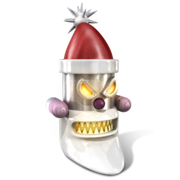 Robot Santa icon