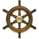 Steering Wheel Ship icon