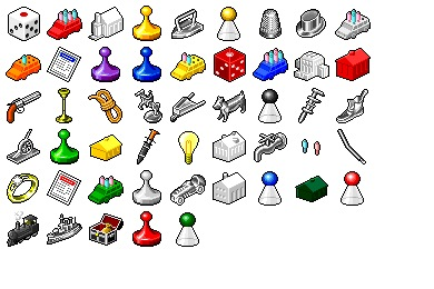 Hide's Board Game Icons