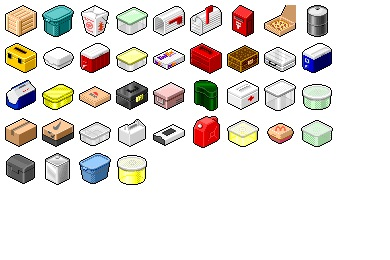 Hide's Box Container Icons