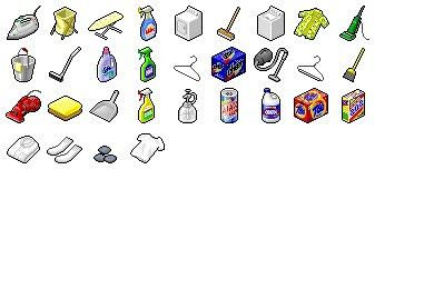 Cleaning House Icons